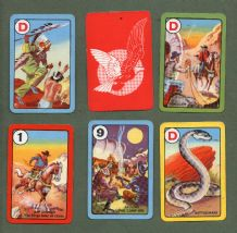 Vintage rare Cards game Riders of the Range by Pepys